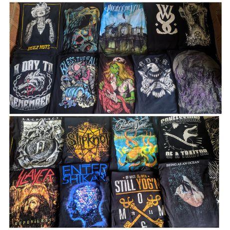 Мерч metal/core групп