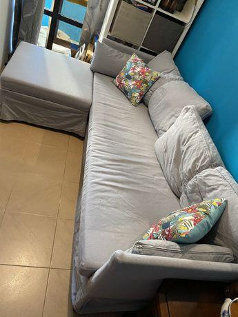 Sofa cama Ikea cinzento