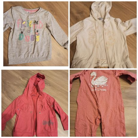 Ubranka dla dziewczynki 86-92