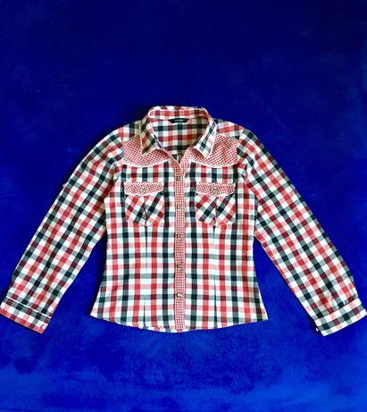 Стильная рубашка, 9-10 лет