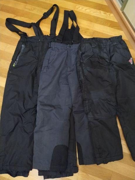 штани зимові лижні напівкомбез 10 12
