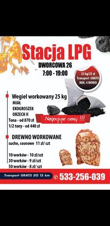 Węgiel / workowany 25 kg/ groszek/ orzech II / ekogroszek / transport