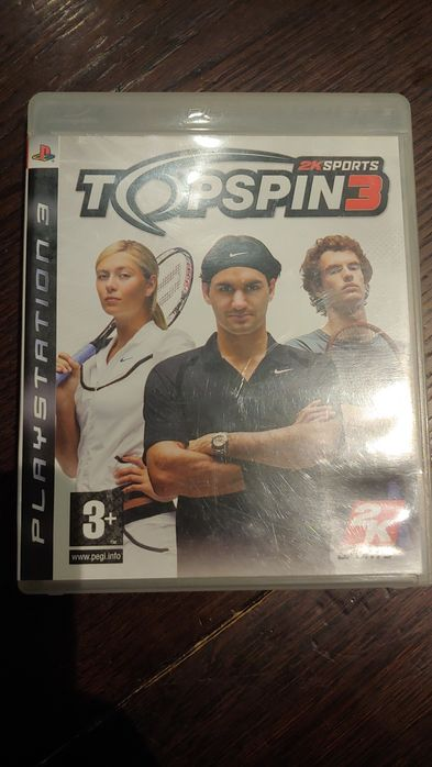 TopSpin 3 PlayStation 3 ps3 move Kielce - image 1