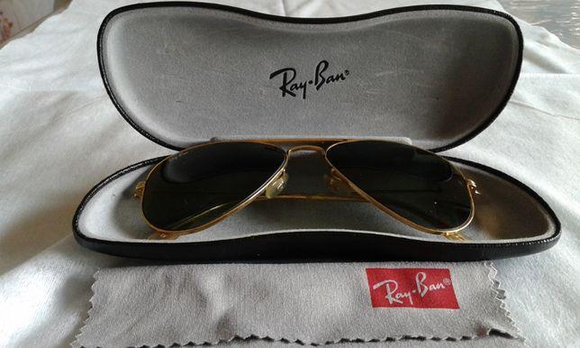 Oculos Ray Ban Aviator lentes B&L USA