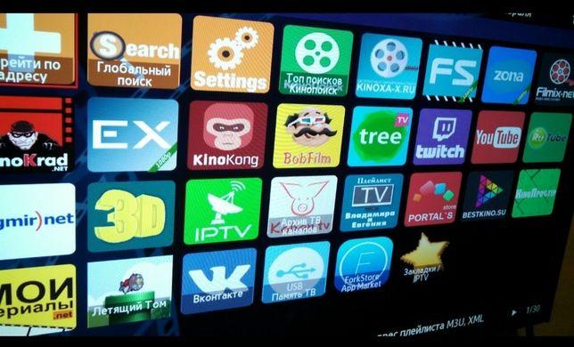 Настройка Смарт ТВ(SmartTv)Разблокировка Прошивка Android IPTV Геоблок