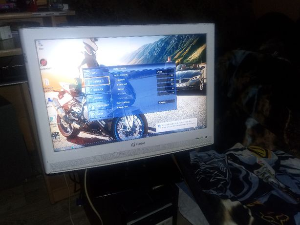"Tv i monitor w jednym Lcd Funai 19"" LT6-M19WB ! Okazja"