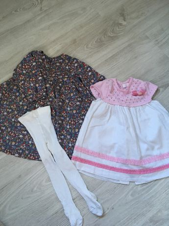 Платтячка на дівчинку 12 міс  платья на девочку 80см