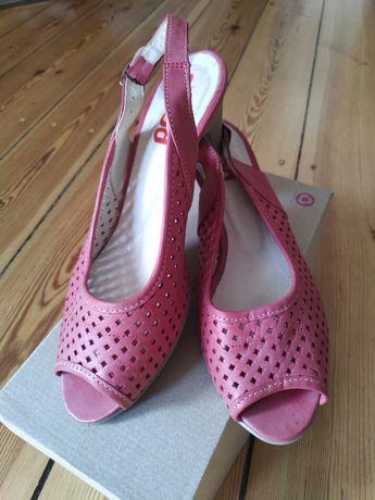Buty z odkrytymi palcami i piętą
