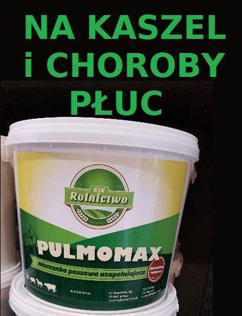 PULMOMAX - sprawdzony preparat NA KASZEL u bydła, trzody, drobiu 2 kg
