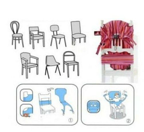 Krzesełko turystyczne Totseat