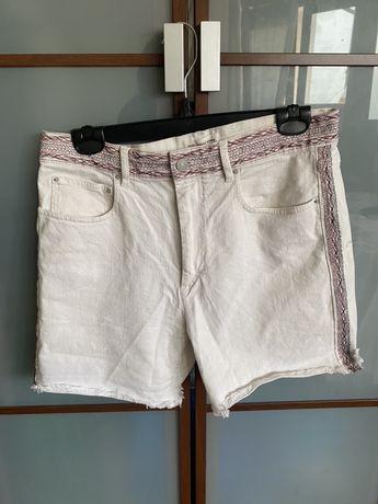 Isabel marant etoile spodenki jeansowe