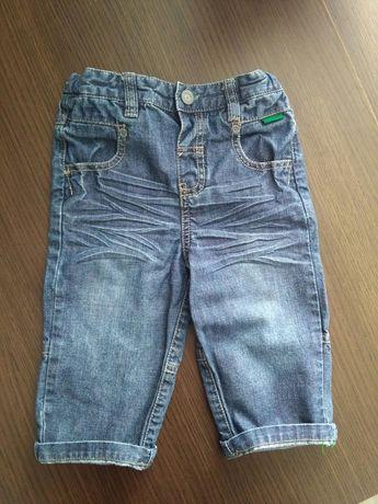 Spodnie jeansy Marks & Spencer 9 - 12 m-cy. Rozmiar 74 - 80