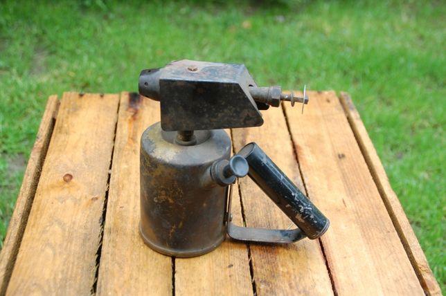 Lutlampa palnik zabytkowy benzynowy mosiezna