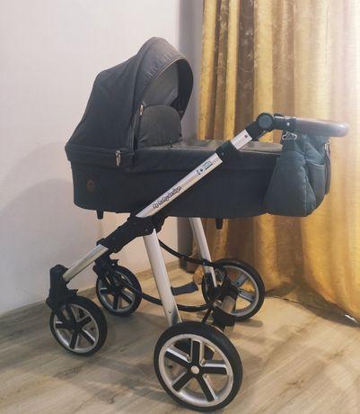 Коляска 2 в 1 Baby Design Dotty Graphite