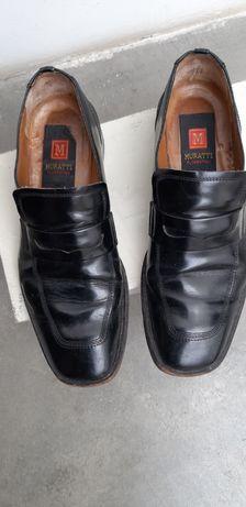 Sapatos de couro , marca Murati.