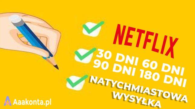 NETFLIX 30 Dni • 4K UHD • Smart TV • bez blokad • Polski lektor
