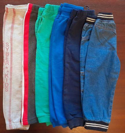 Spodnie dresowe chłopięce 86-92