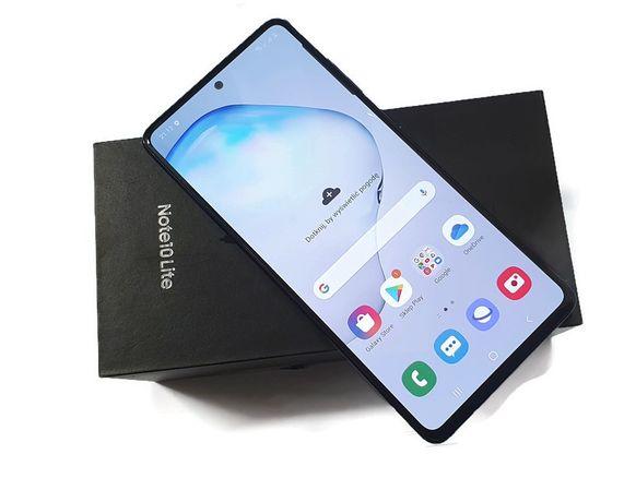 Telefon Samsung Note 10 lite dual sim kpl z Orange