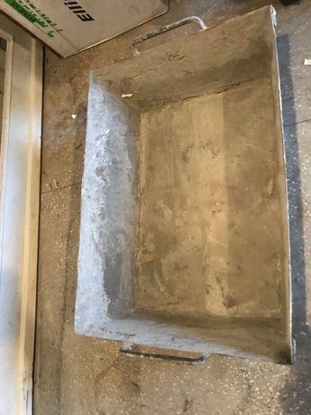 Бадья для раствора, корыто для растрвора, бетона