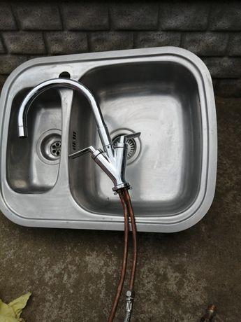 Zlewozmywak kuchenny plus bateria