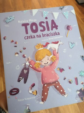 Książka Tosia czeka na braciszka
