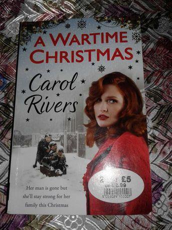 Книга англійською  Wartime Christmas Carol Rivers. Language : English