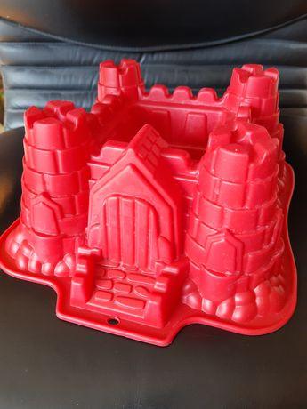 Silikonowa forma do pieczenia zamek