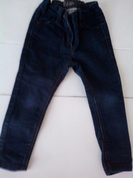 Spodnie dżinsy,legginsy 98