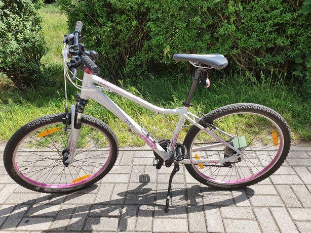 Rower GIANT Enchant, rama S ,srebrny,damski