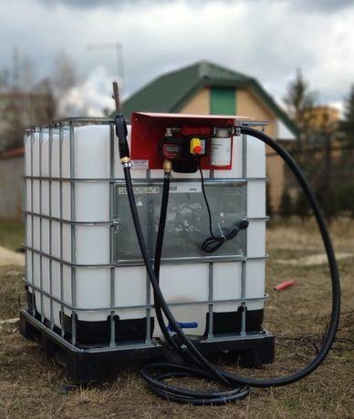 Заправочный модуль на еврокуб с ТОЧНЫМ счетчиком для дизель топлива
