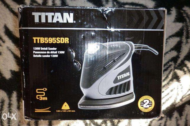 Szlifierka Oscylacyjna TITAN Trójkątna TTB595SDR