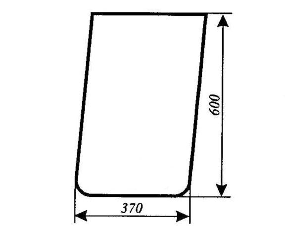 Szyba przednia dolna Ursus 1634 ACX177