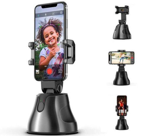 Смарт-штатив подставка для телефона (360град) с датчиком движения