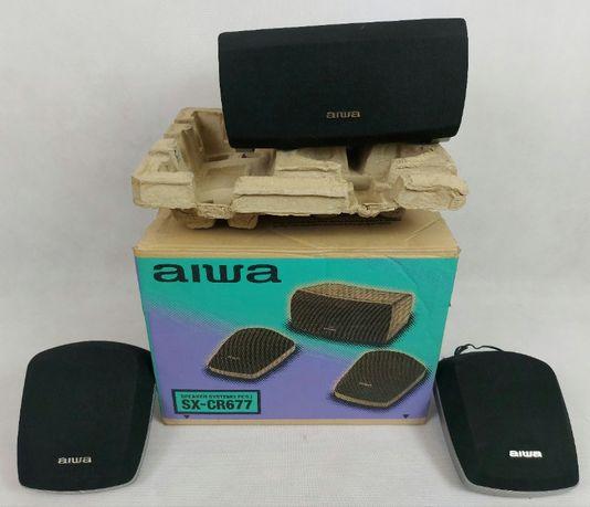 Aiwa SX-CR677 - kolumny głośnikowe.