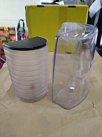 Depósitos água máquina de cápsulas