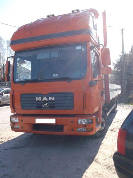 Samochód ciężarowy MAN TGL 8.180 zestaw