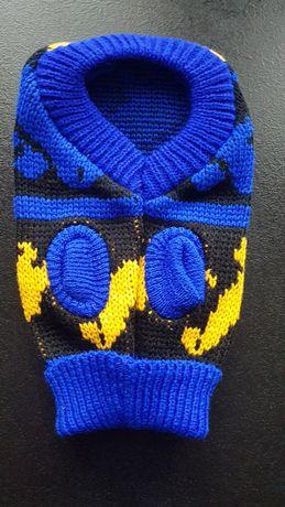 Sweterek dla małego pieska roz S