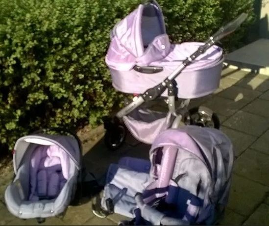 Wózek dziecięcy Tutek Grander 3 w 1