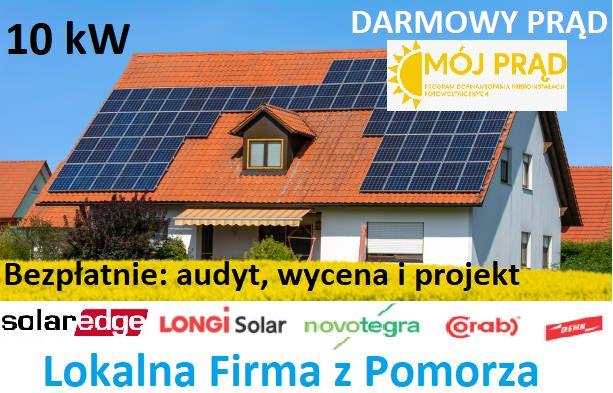 Bezpieczna Fotowoltaika - SolarEdge -Optymalizatory - Longi Full Black