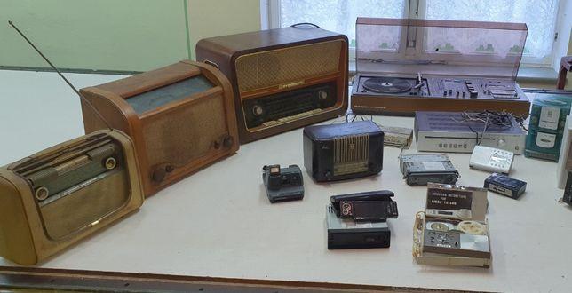radio, magnetofon