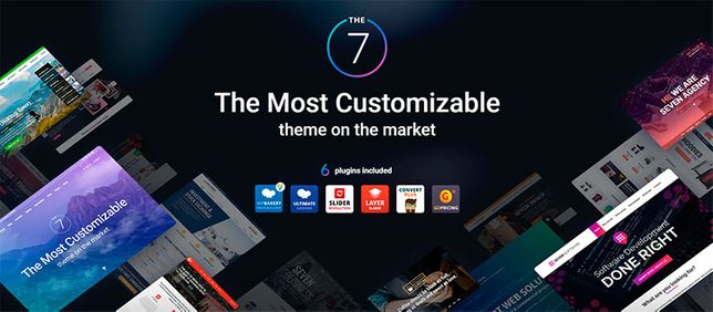 Тема для WordPress шаблон The7
