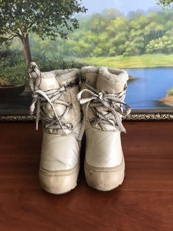 Продам зимние сапоги Demar 28-29 р. на девочку.