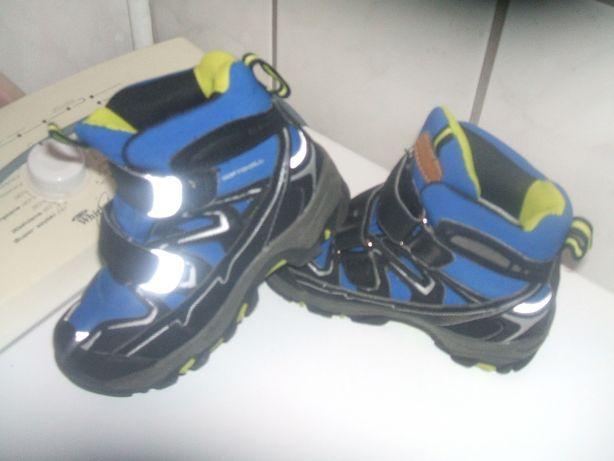 buty zimowe sportowe 28 jak nowe ! wkładka 17,5cm dla dziecka dziecece
