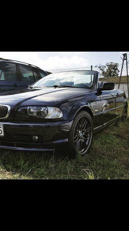 BMW cabrio e46 192km, niski przebieg