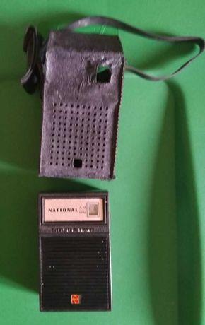 """Rádio de Bolso """"National"""" – Muito Antigo – Mais de 50 anos"""
