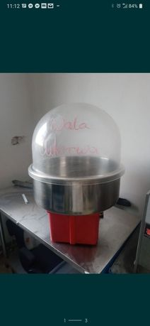 Maszyna do waty cukrowej na gaz mobilna