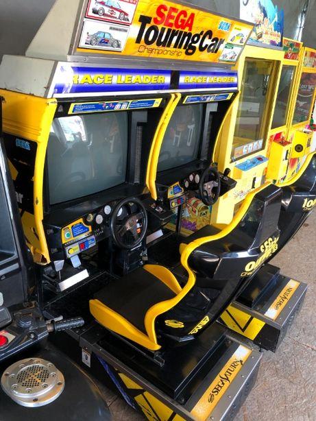 Symulator jazdy TOURING CAR - Sega , Twin