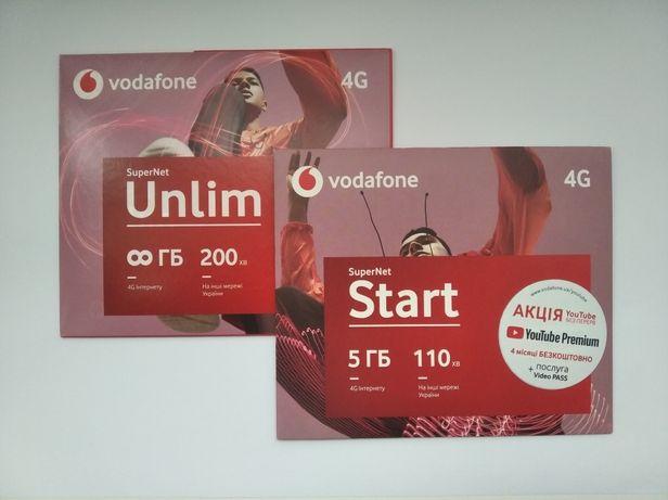 Два пакета Vodafone