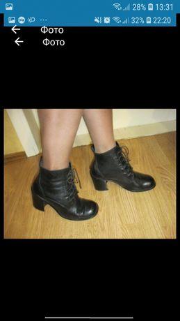 ботинки как новые р 37 38