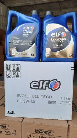 Масло моторное синтетическое Elf Эльф Evolution Full-Tech FE 5W-30 15л
